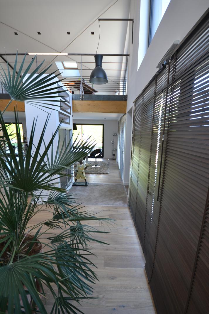 Loft Chavagne vue de lentrée1 - Permis de construire pour un loft proche de Rennes (35)