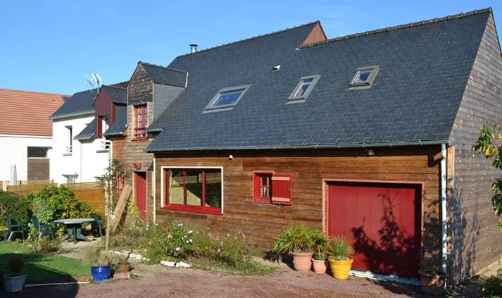 chantier renovation maison 31 - Création d'une ouverture et rénovation d'une cuisine à Nantes (44)