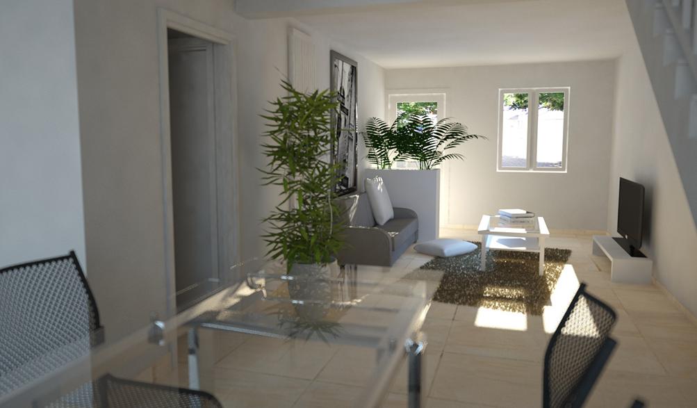 Rénovation intérieure d'une maison à Nantes (44)