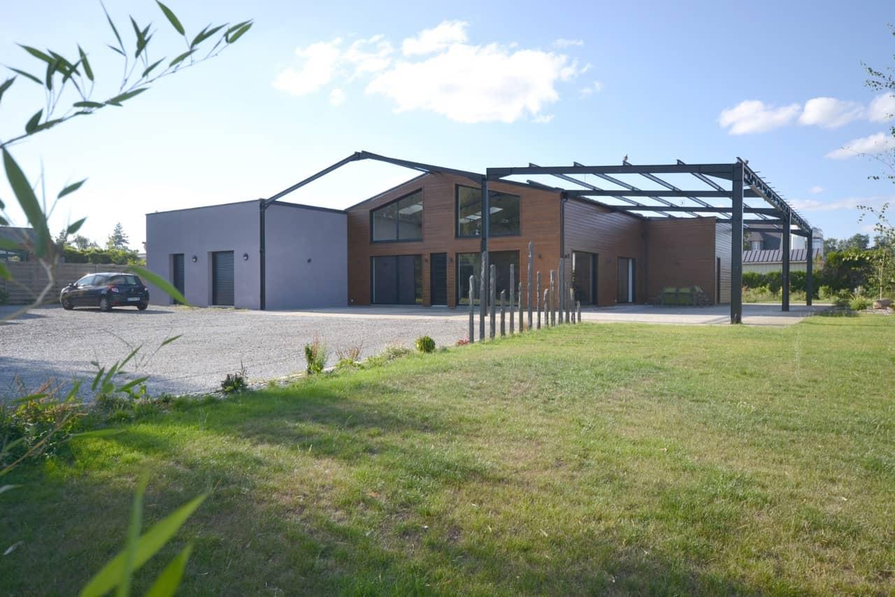 Loft Chavagne 351 - Permis de construire pour un loft proche de Rennes (35)