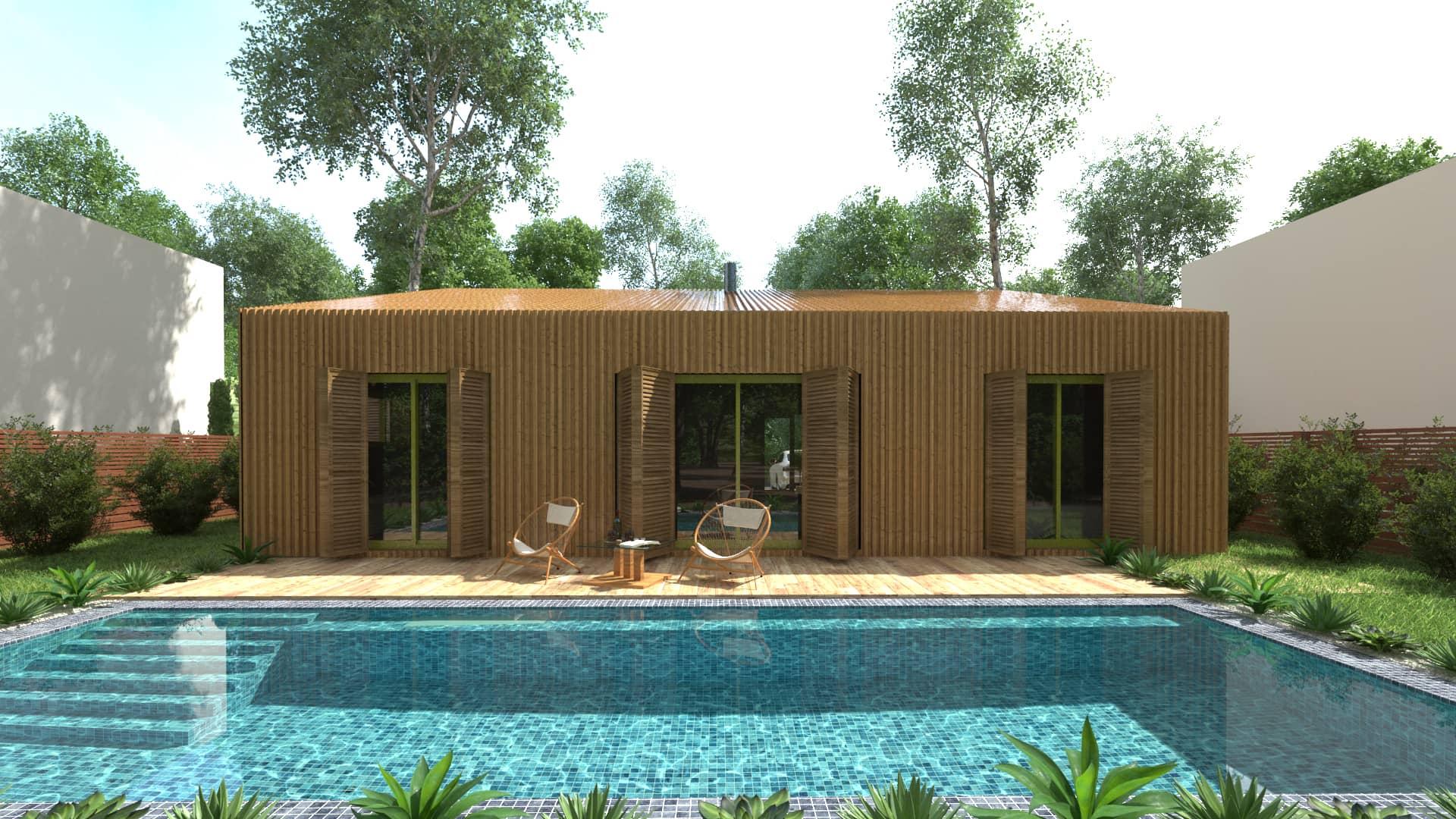 Construction maison modulaire 44 maison moderne for Maison contemporaine 44