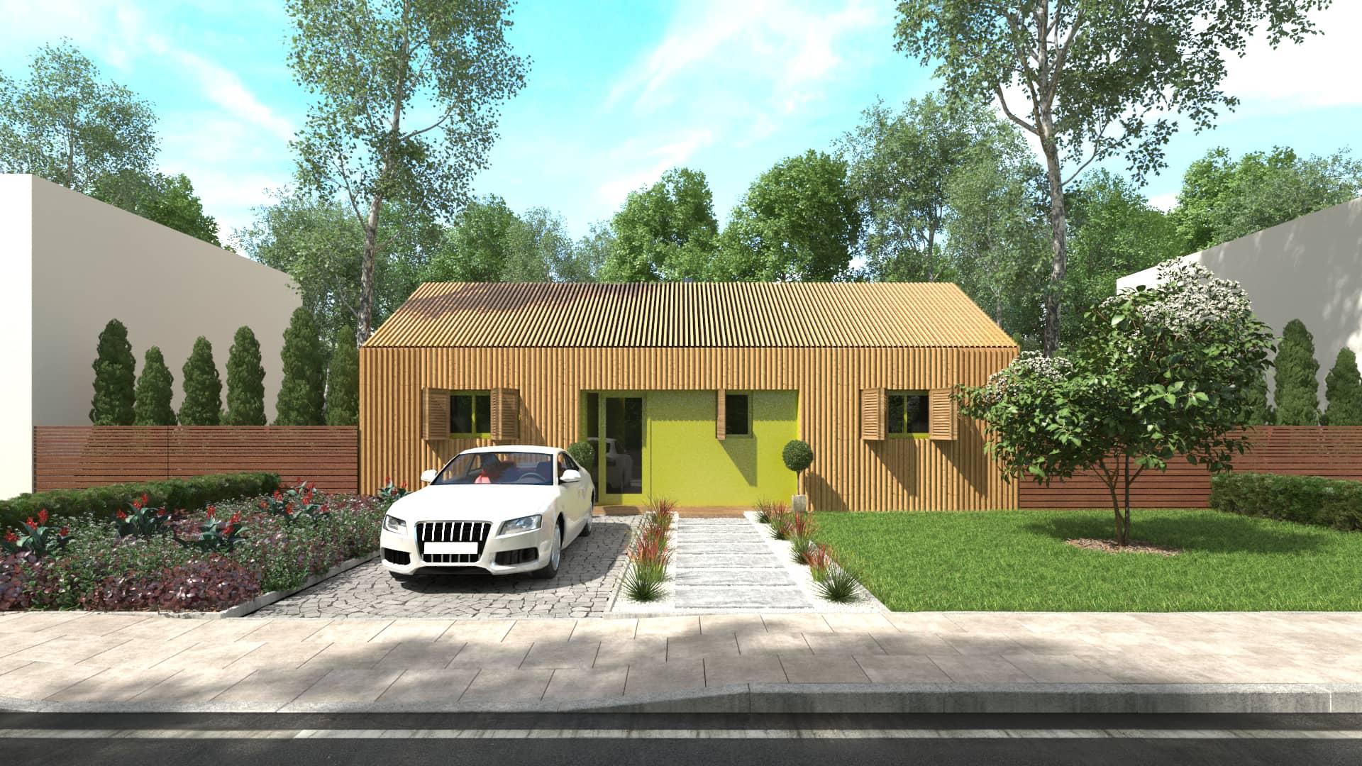 Avant projet d une maison individuelle contemporaine for Chiffrage maison individuelle