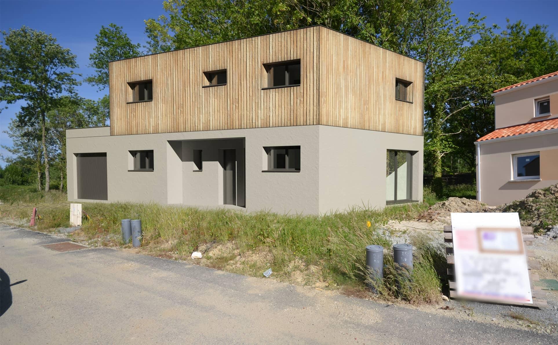 maison individuelle vertou - Maison individuelle RT2012 à Vertou, proche de Nantes (44)