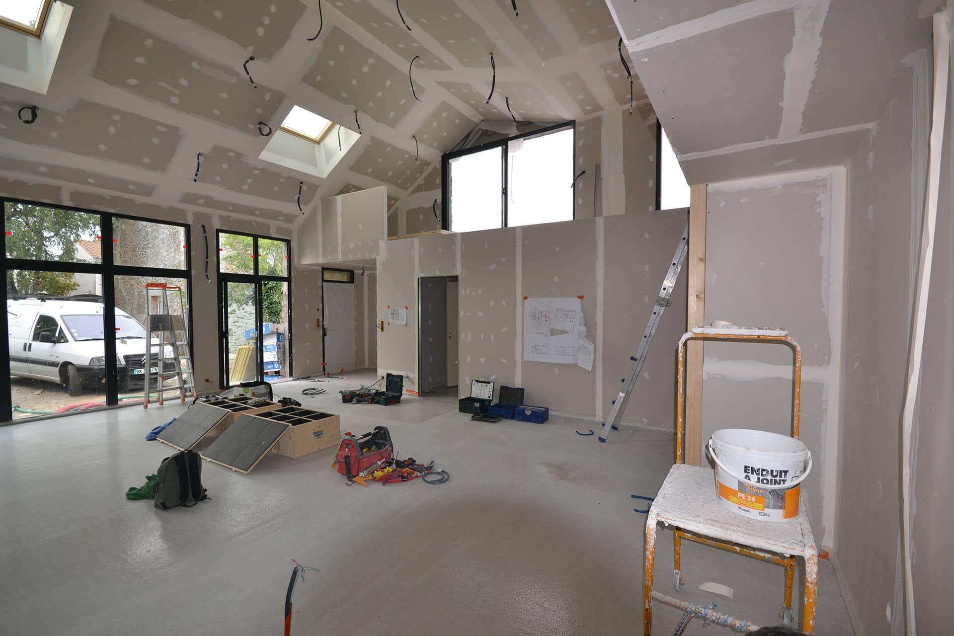 chantier saint colomban loft 3 - Accueil