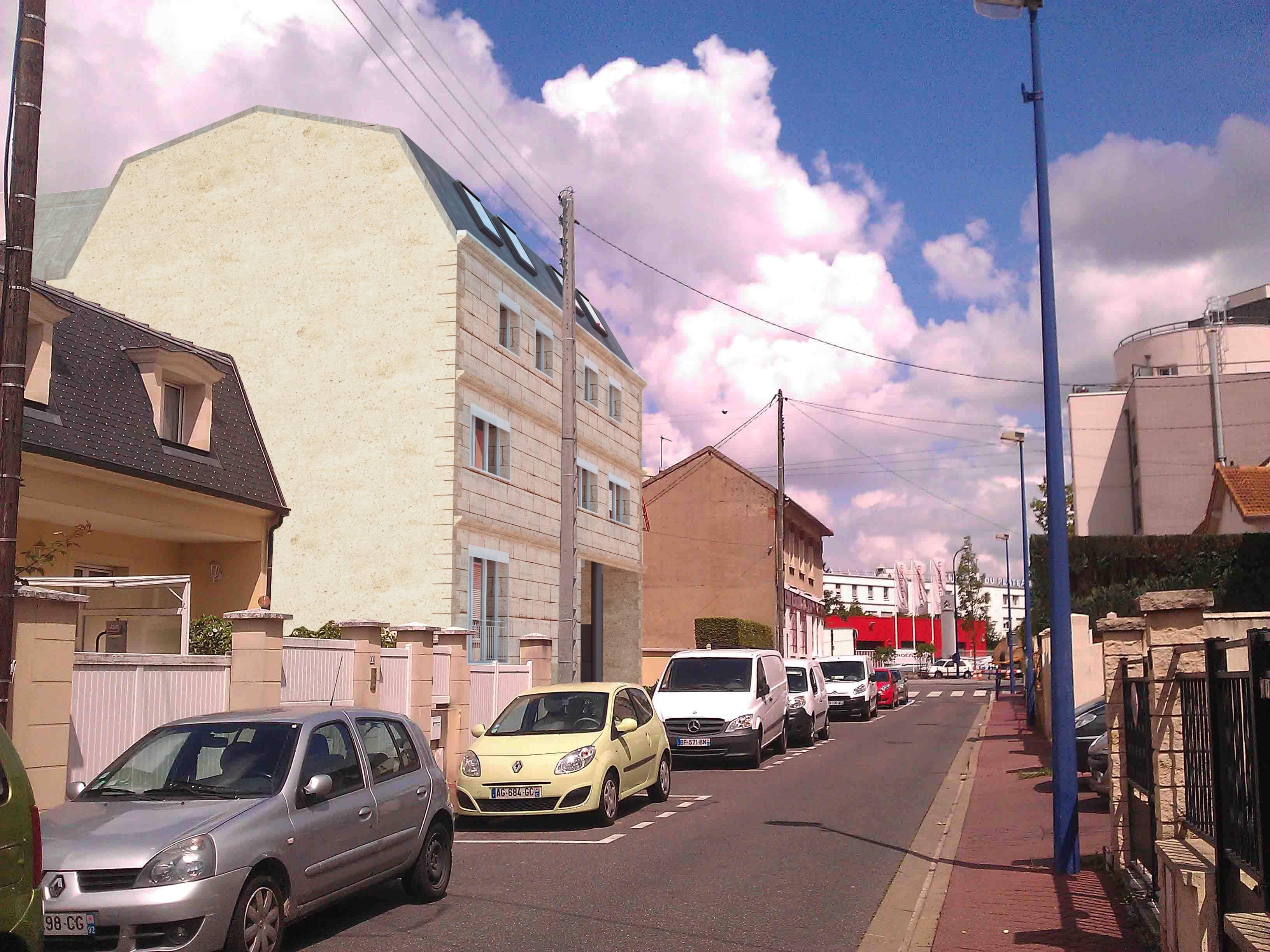 surelevation d un immeuble a clamart - Etude, permis de construire et consultation des entreprises Clamart (92)
