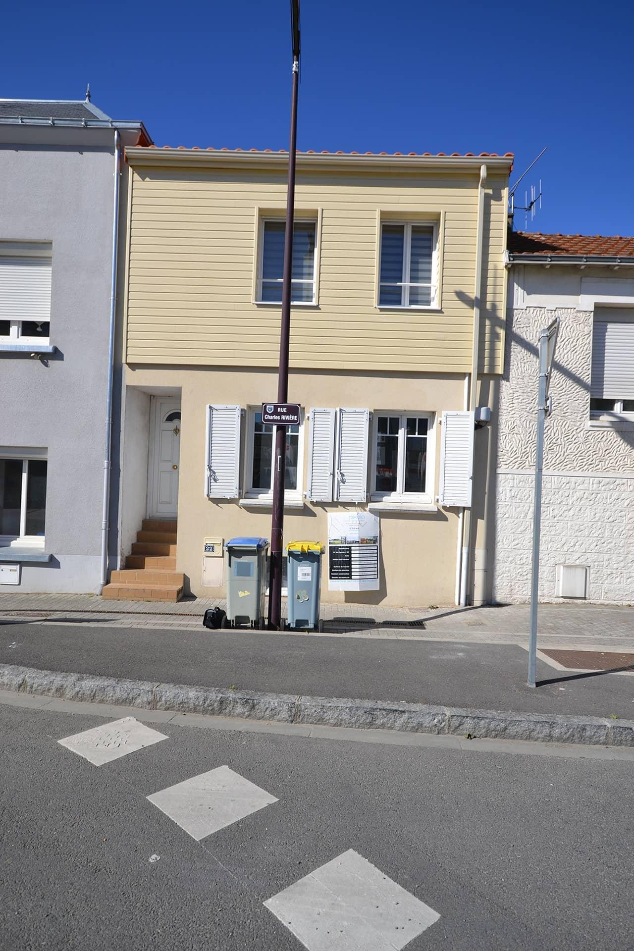REZE 2 - Surélévation d'une maison de ville à Rezé (44)
