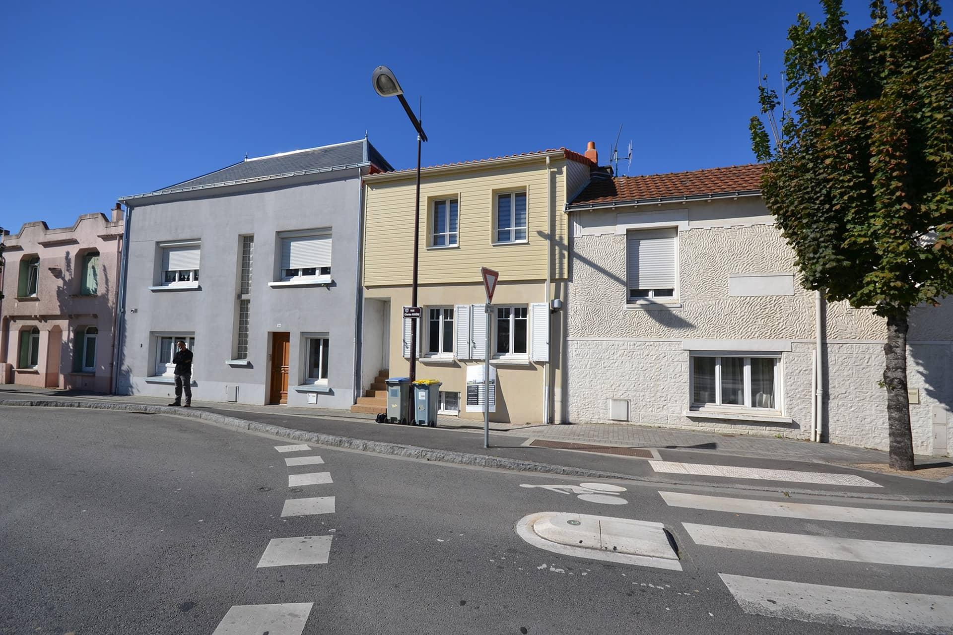 surelevation d une maison reze 44 - Surélévation d'une maison de ville à Rezé (44)