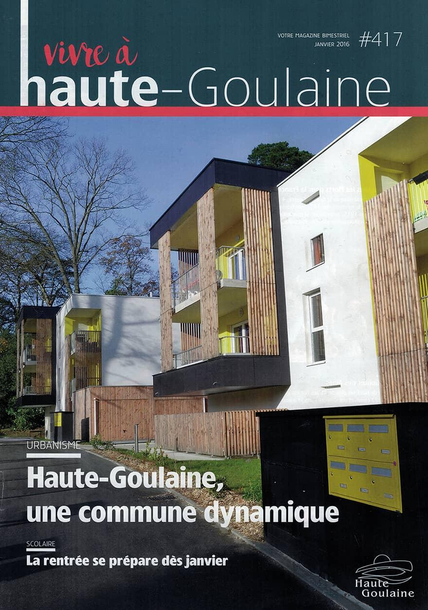 Notre agence dans le magazine de Haute-Goulaine