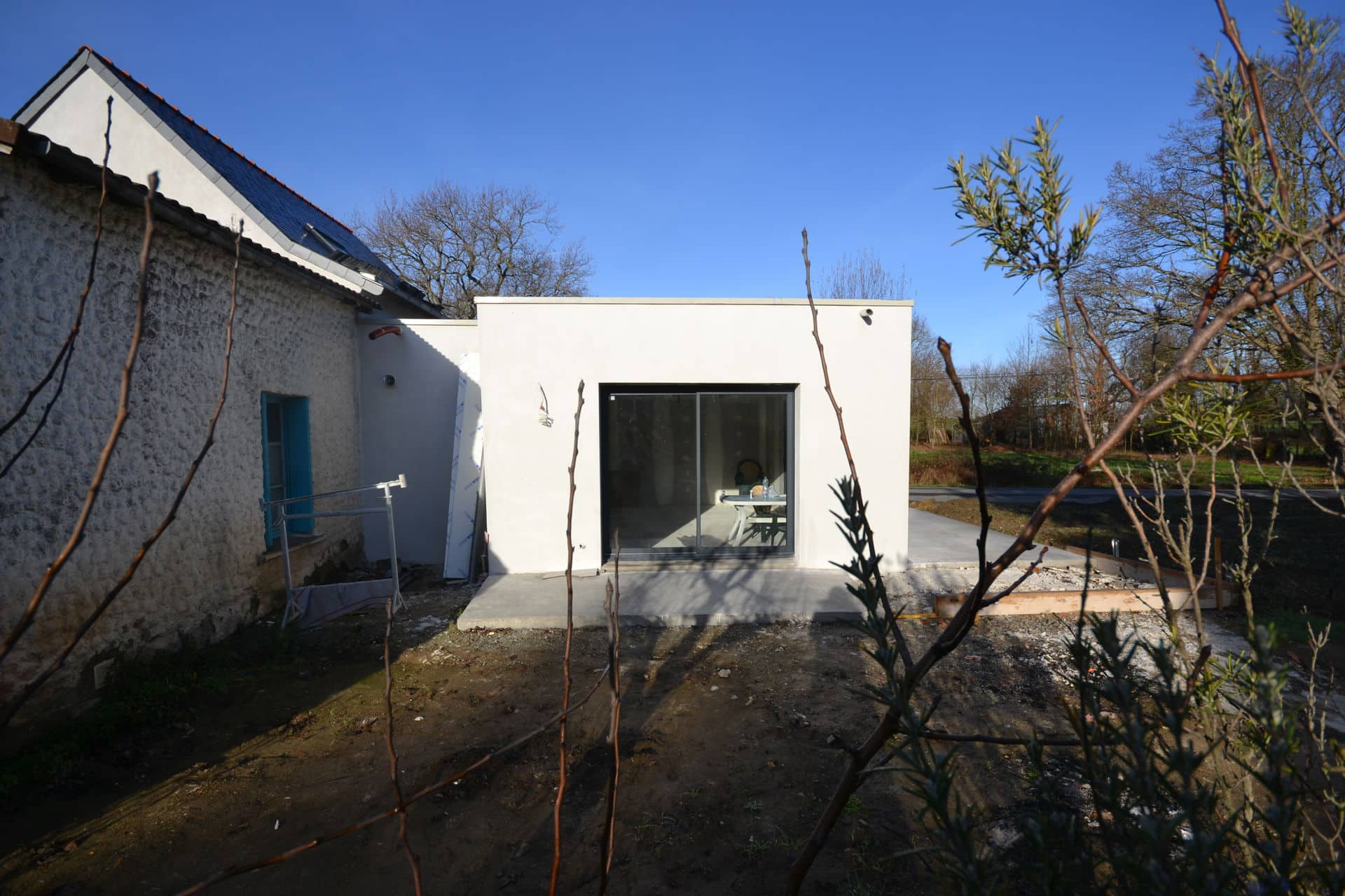 extension et surélévation Caquefou2 - Extension et rénovation d'une maison à Carquefou (44)