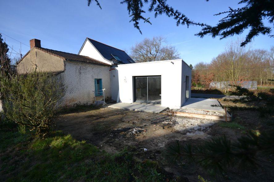 Extension et rénovation Carquefou 44