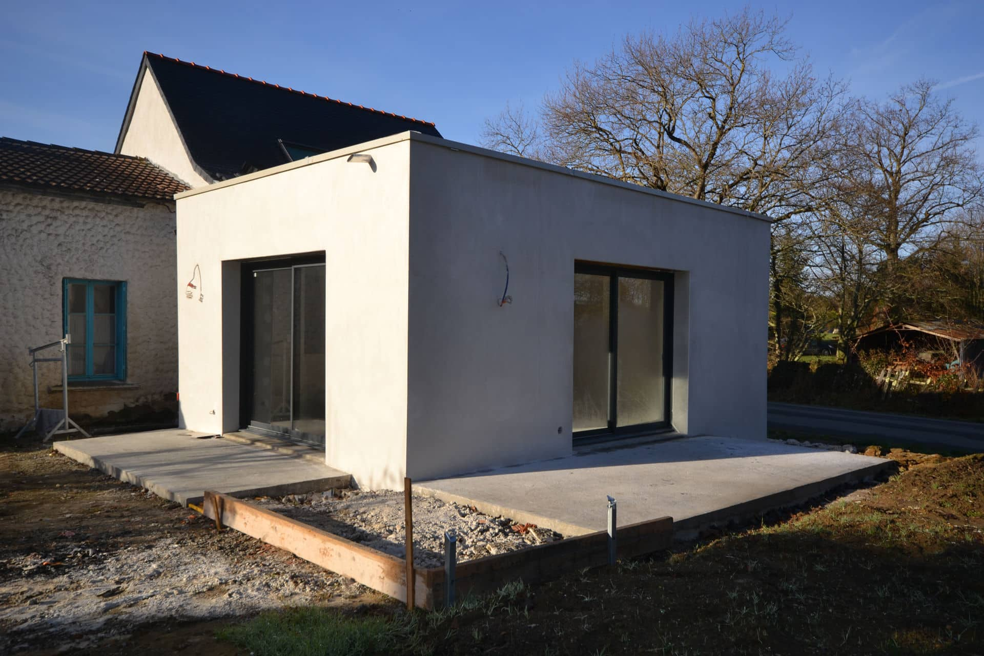 extension et surélévation Caquefou4 - Extension et rénovation d'une maison à Carquefou (44)