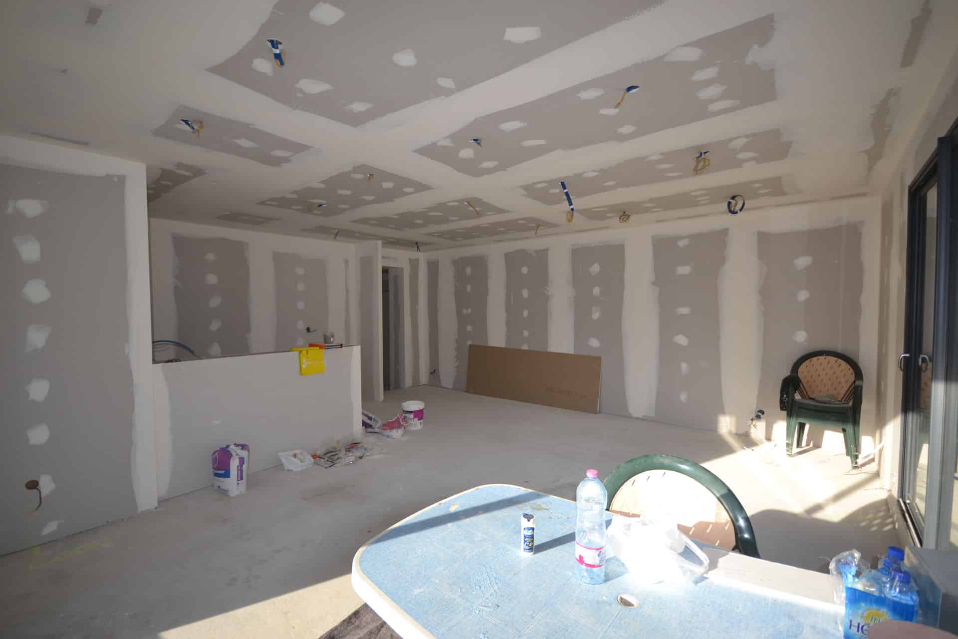 extension et surélévation Caquefou6 - Extension et rénovation d'une maison à Carquefou (44)