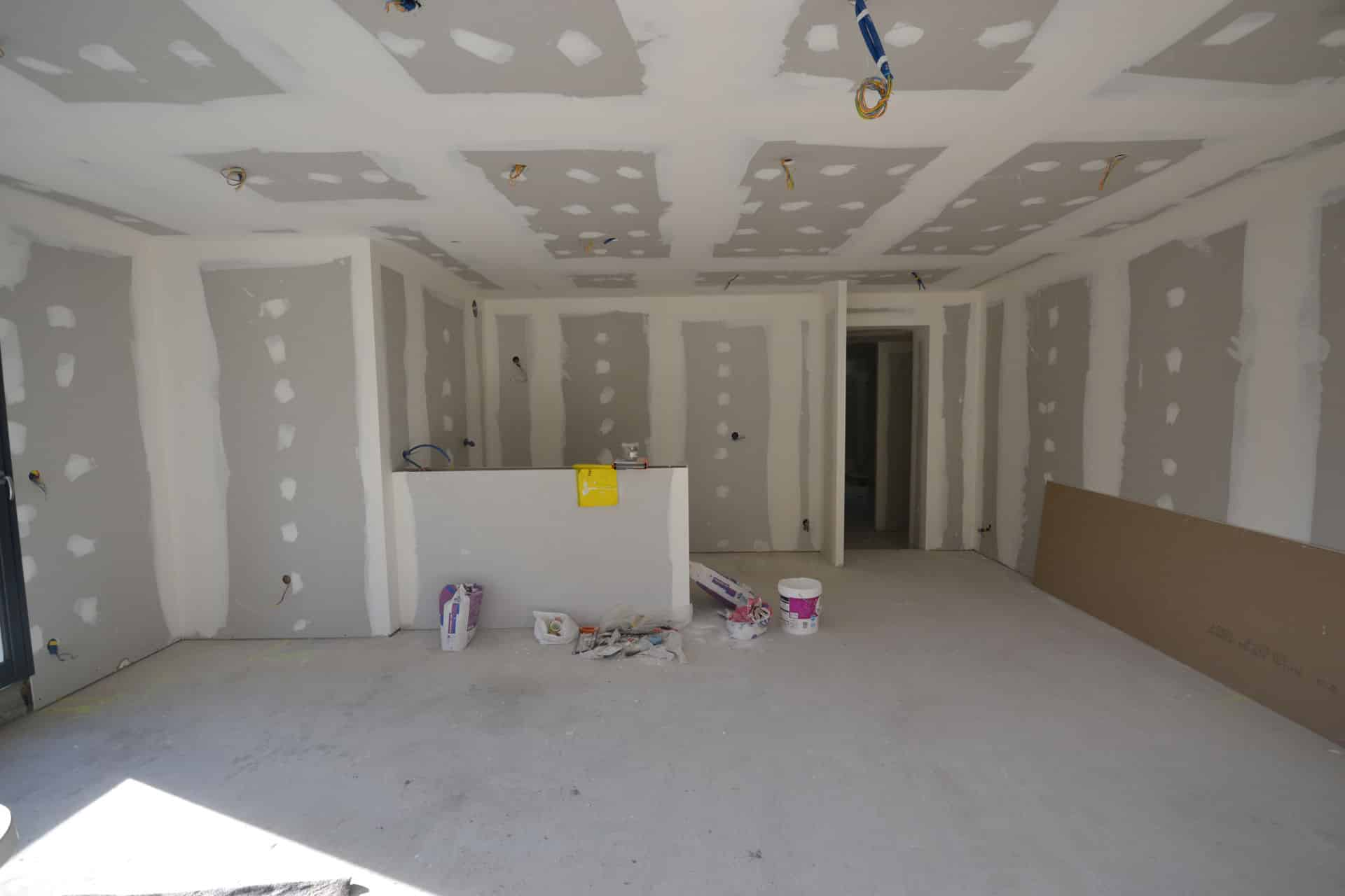 extension et surélévation Caquefou7 - Extension et rénovation d'une maison à Carquefou (44)