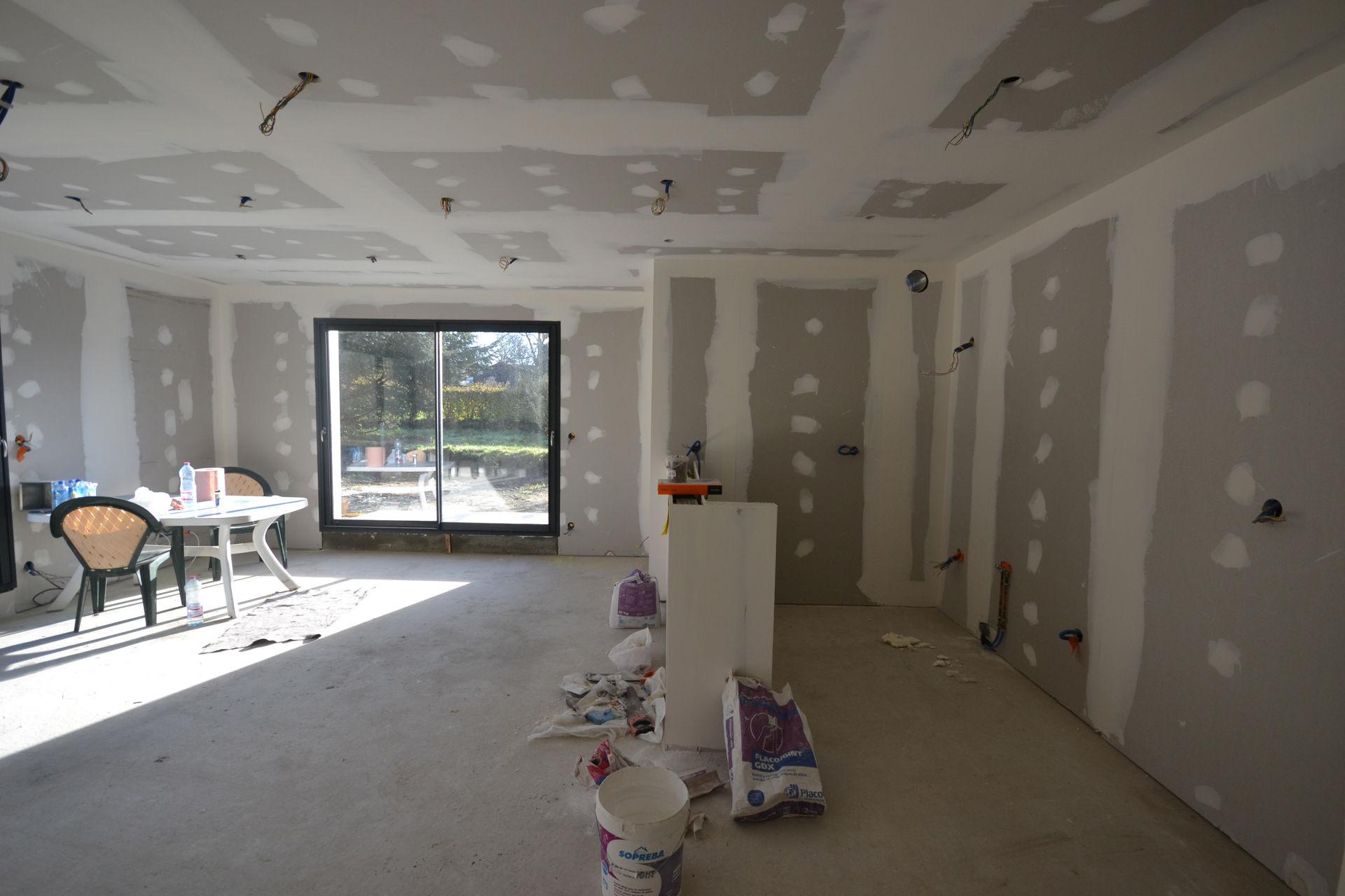 extension et surélévation Caquefou7b - Extension et rénovation d'une maison à Carquefou (44)