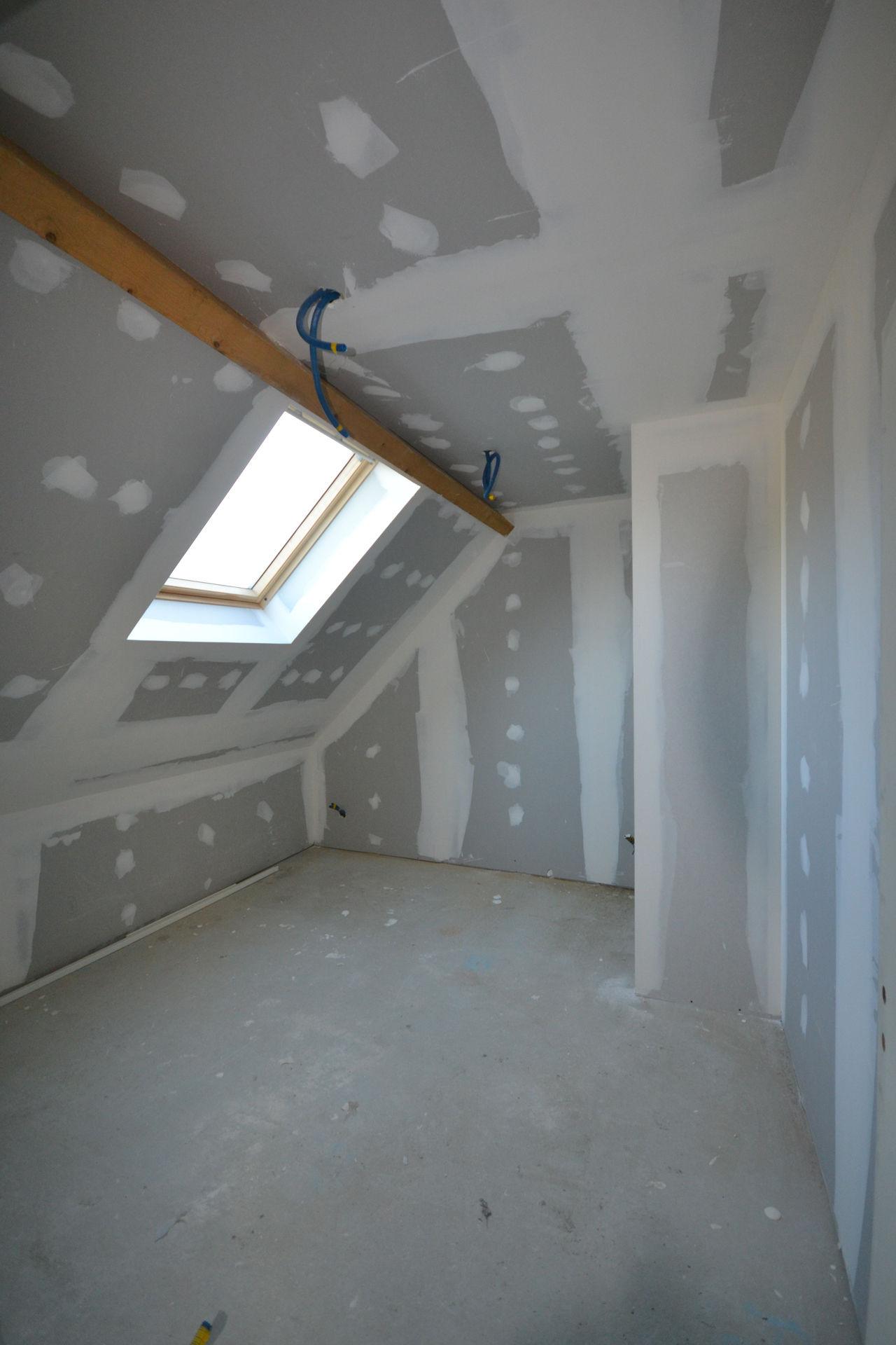 extension et surélévation Caquefou8 - Extension et rénovation d'une maison à Carquefou (44)