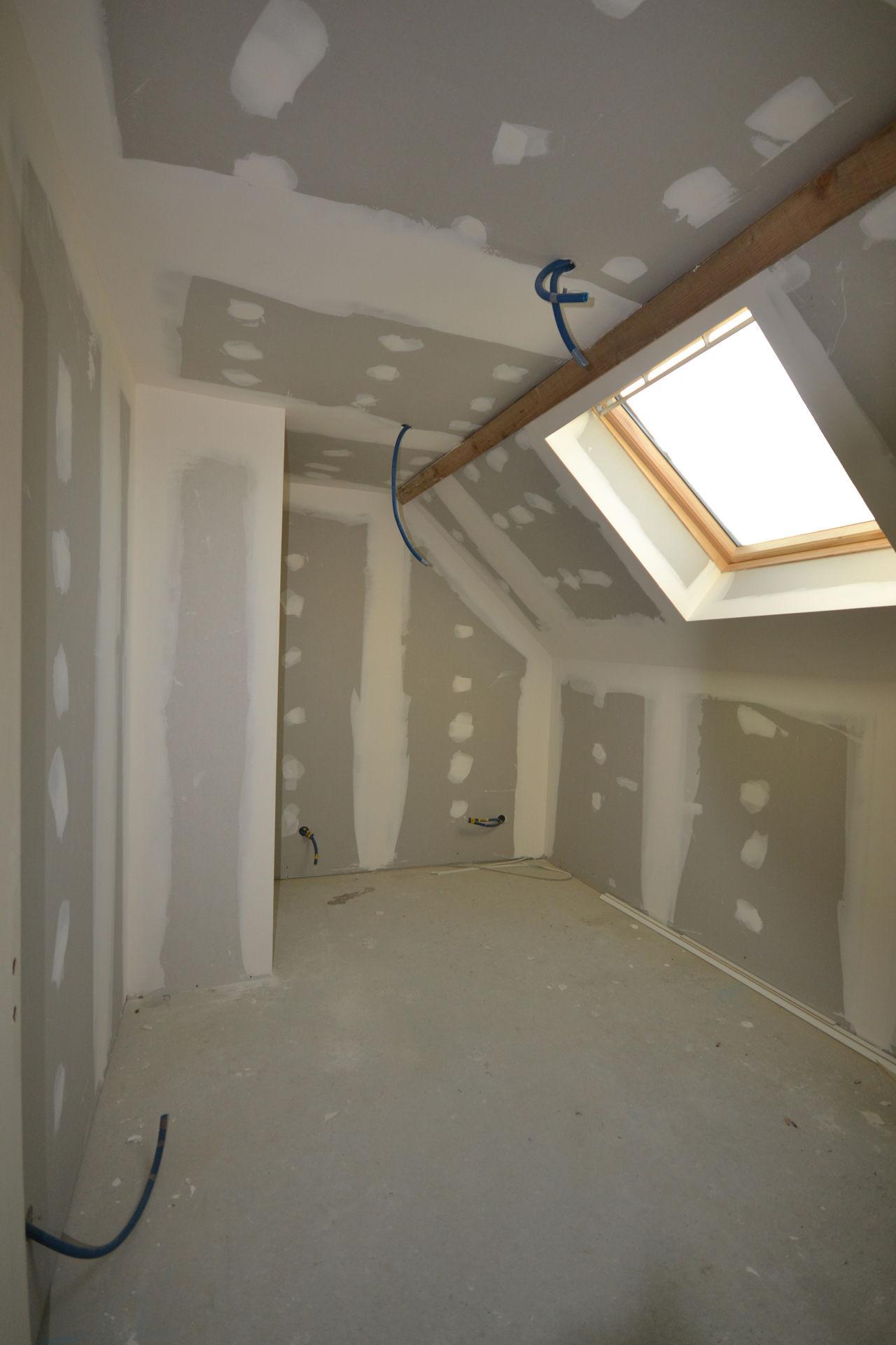 extension et surélévation Caquefou9 - Extension et rénovation d'une maison à Carquefou (44)