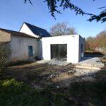 Rénovation et extension en cours à Carquefou (44)