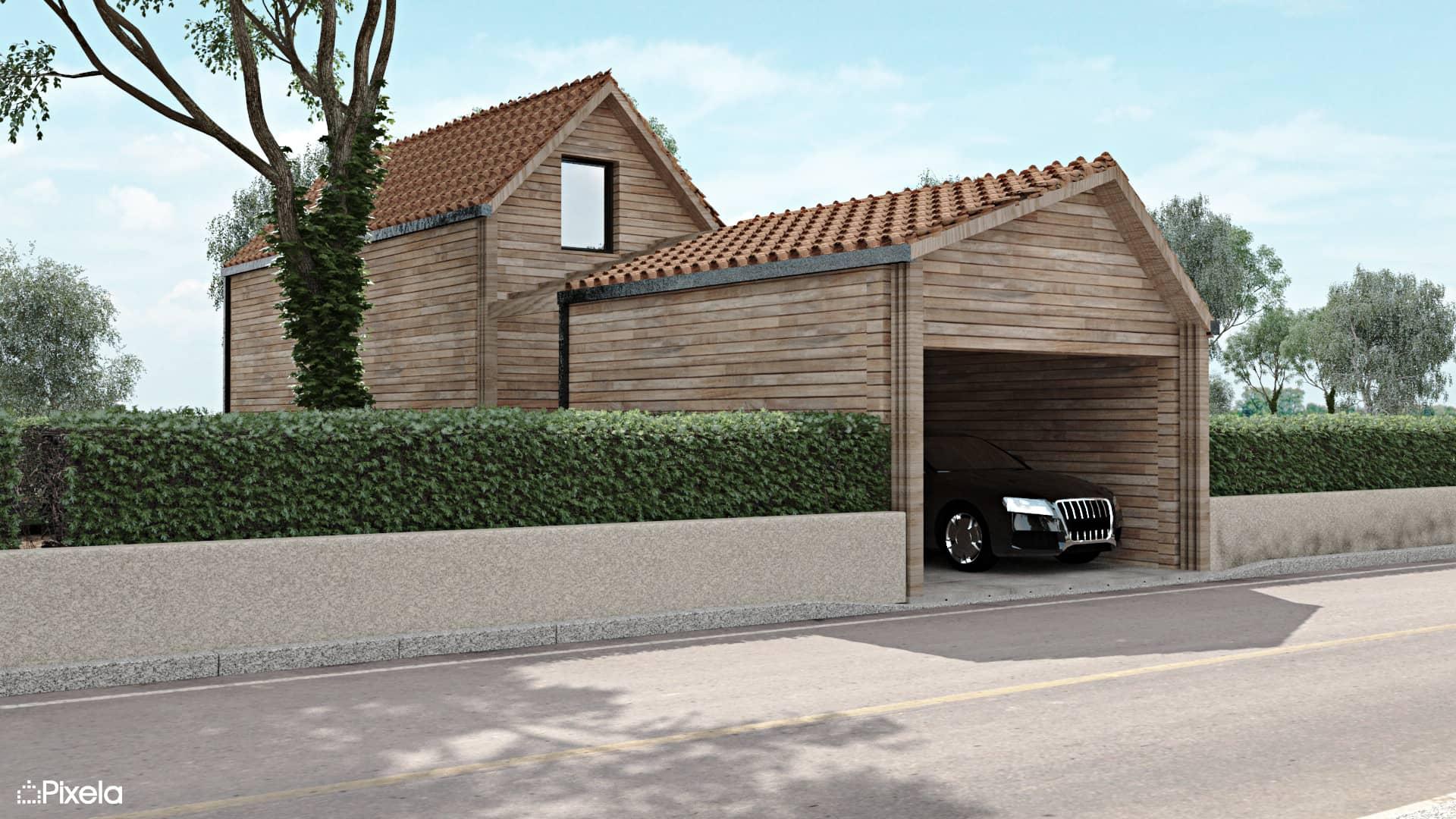 maison individuelle clisson vue 3d - Future maison individuelle à Clisson dès avril 2017