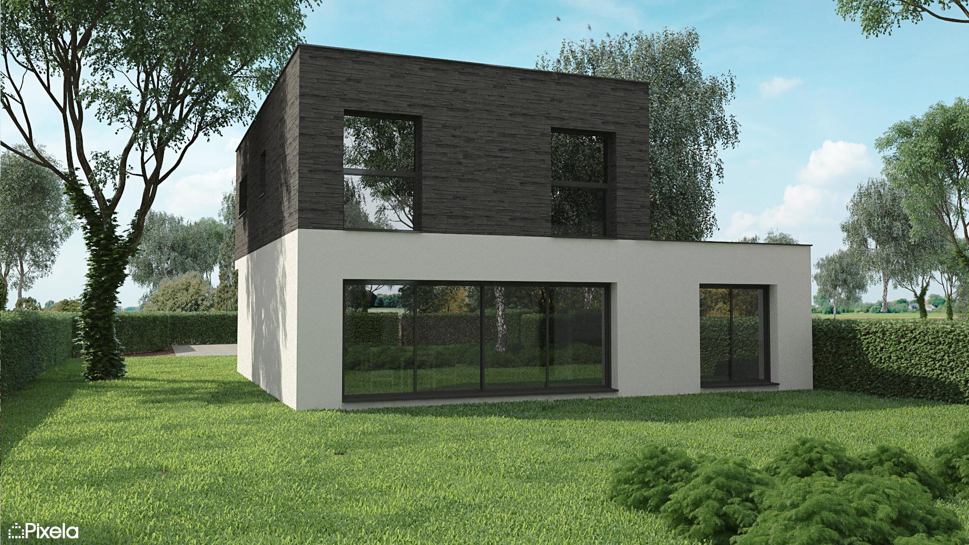 maison contemporaine thouare sur loire - Maison individuelle à Thouaré sur Loire (44)