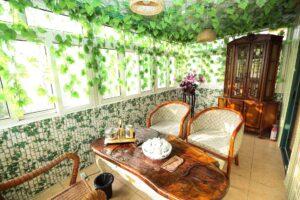 Tendance nature, style architectural réconciliant l'homme et l'écologie