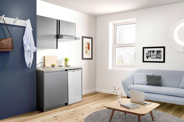 kitchenette design pas chere Lapeyre
