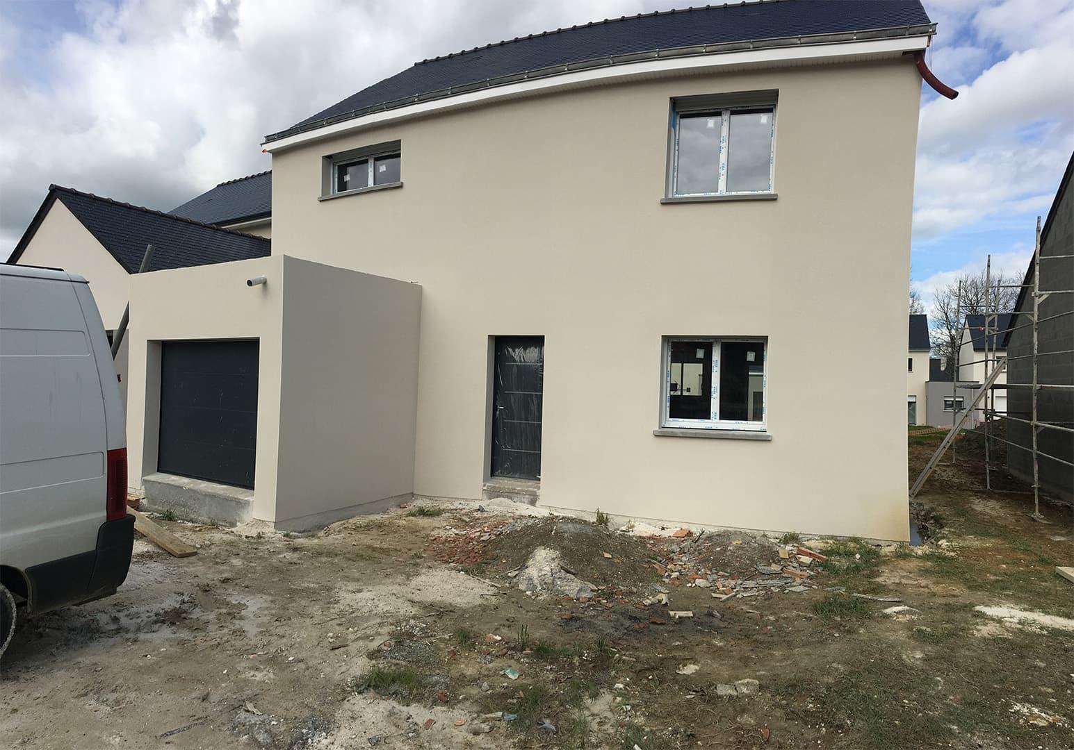 maison suce sur erdre pas cher - Permis de construire - Maison individuelle traditionnelle à Sucé sur Erdre (44)