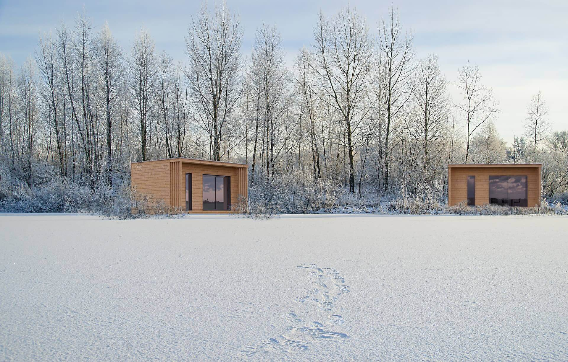 studio de jardin 20m2 hivers - Studio de jardin 20m2