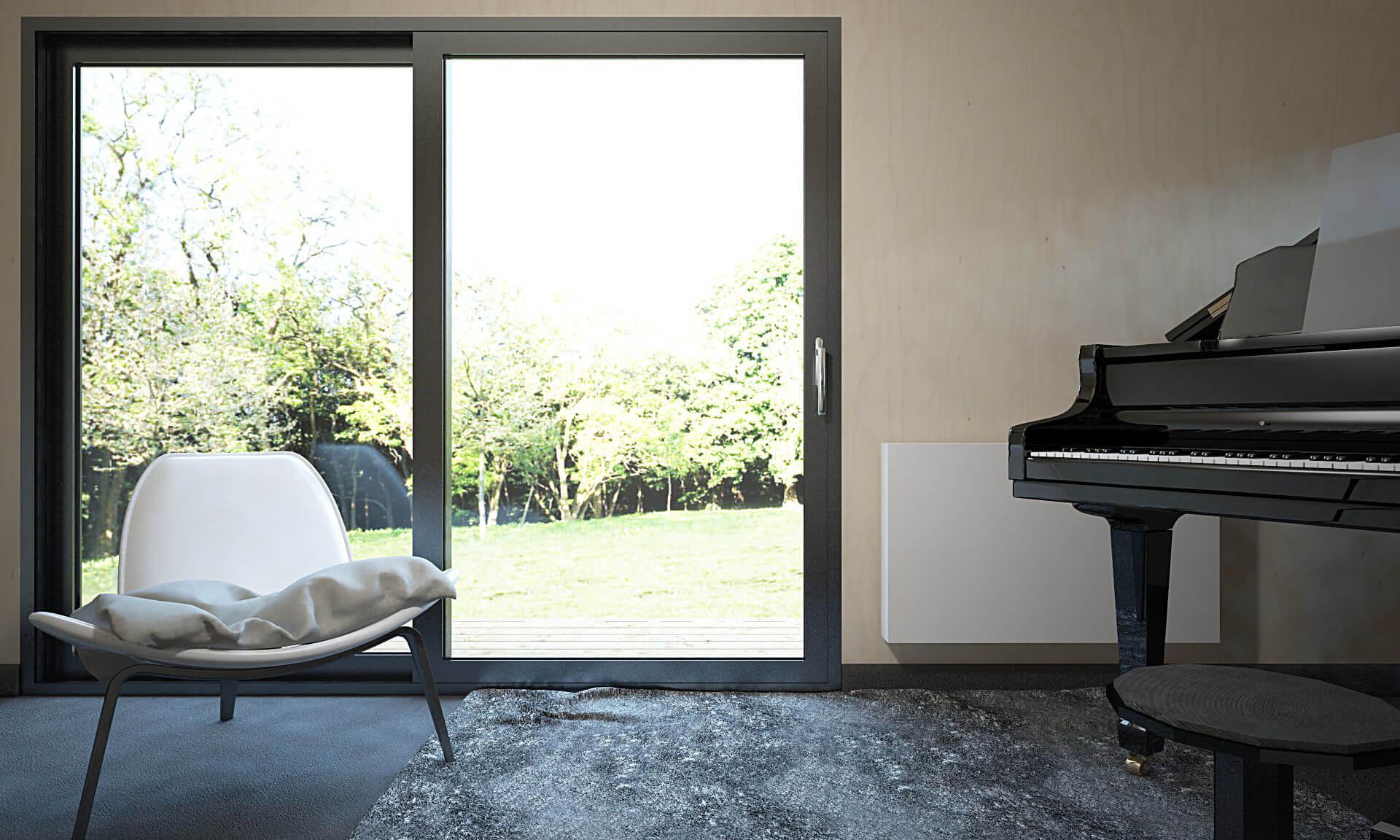 studio de jardin musicien 20m22 - Plans et vues 3D de studios de jardin en bois