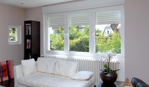 Fenêtre Tryba pvc larges ouvertures