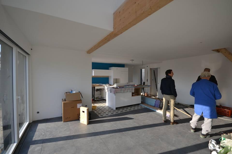 Construction d\'une maison en ossature bois Couëron, proche ...