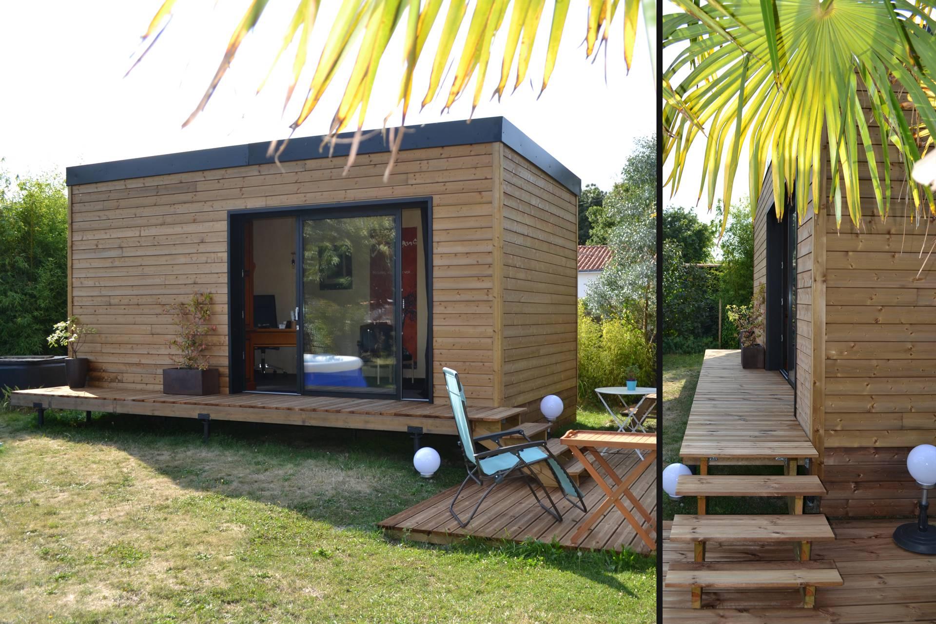 Studio de jardin 20m2 Couëron, proche Nantes 44