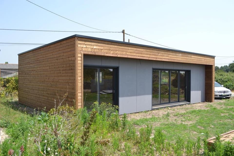 Construction d'une maison bois de 80m2 à Nantes
