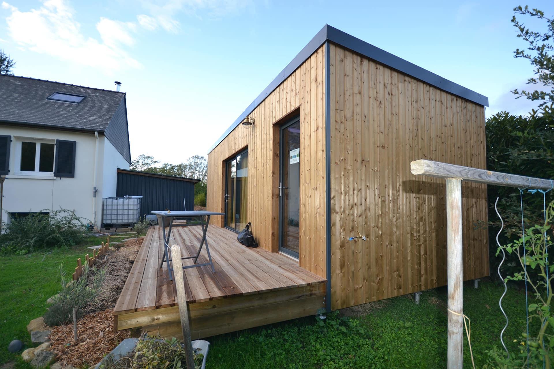Studio de jardin 20m2 proche Angers 49